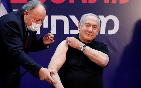 نتانیاهو واکسن کرونا تزریق کرد