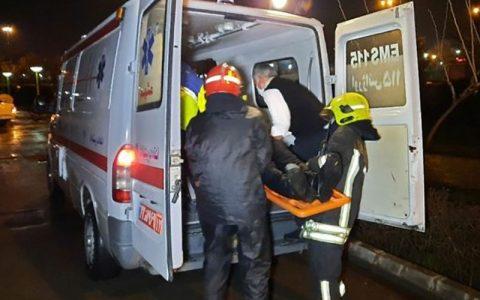 نجات مرد جوان از مرگ حتمی در اصفهان نجات مرد جوان از مرگ حتمی, آتش نشانان اصفهانی