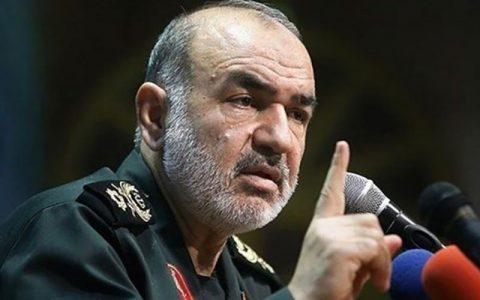 هشدار جدی سرلشکر سلامی/ دشمنان منتظر واکنش قاطع ایران باشند