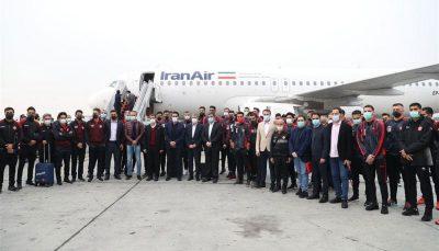 کاروان پرسپولیس به قطر سفر کرد پرسپولیس, قطر