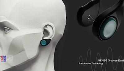 کنترل قند خون با کمک یک گوشواره!