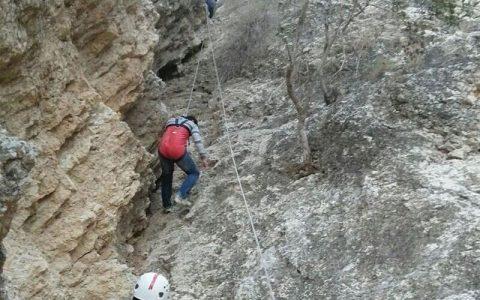 ۱۰ کوهنورد گرفتار در آبشار یخی مرند نجات یافتند آبشار یخی مرند, کوهنوردان