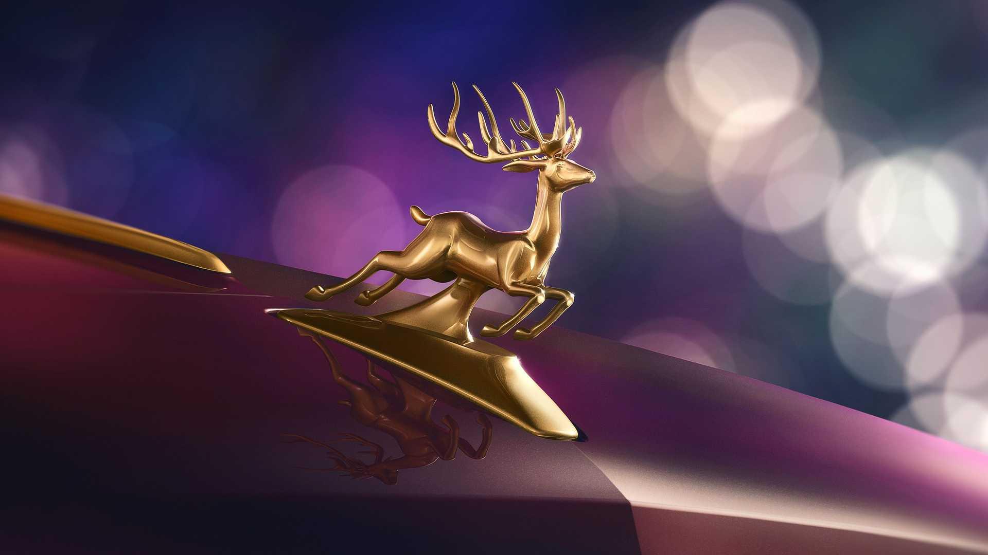"بنتلی فلایینگ اسپور نسخه کریسمس ""Reindeer Eight"" با نشانی از گوزن های شمالی/ عکس"