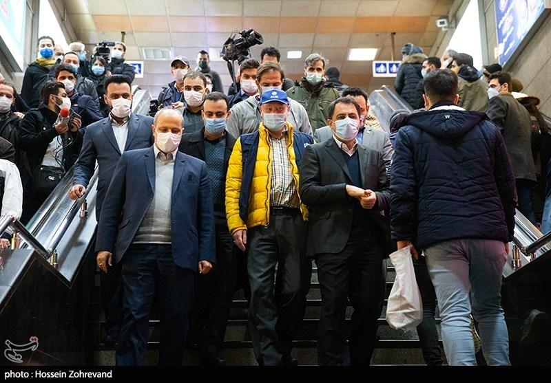 بازدید نماینده سازمان بهداشت جهانی از مترو تهران