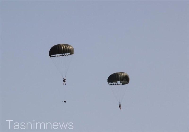 1399092111092230221792974 تمرینات هوابرد, نیروهای ویژه صابرین