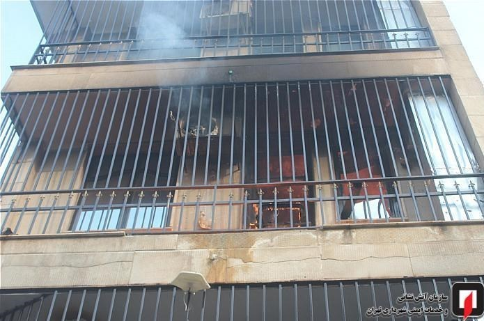 13991004150346840218761410 کارگاه طلاسازی, بازار تهران, آتشسوزی