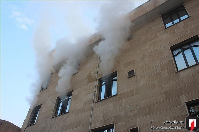 13991004150531246218761910 کارگاه طلاسازی, بازار تهران, آتشسوزی