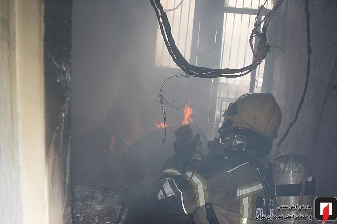 1399100415060359218762110 کارگاه طلاسازی, بازار تهران, آتشسوزی
