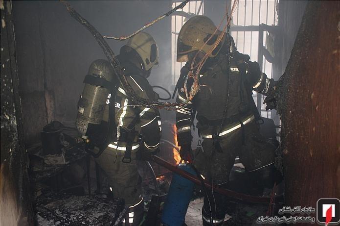 13991004150616778218762210 کارگاه طلاسازی, بازار تهران, آتشسوزی