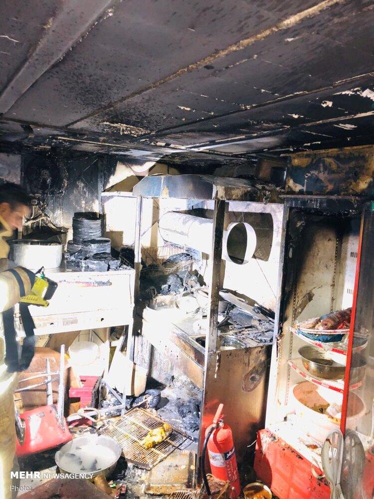 3619062 اغذیهفروشی, آتشسوزی
