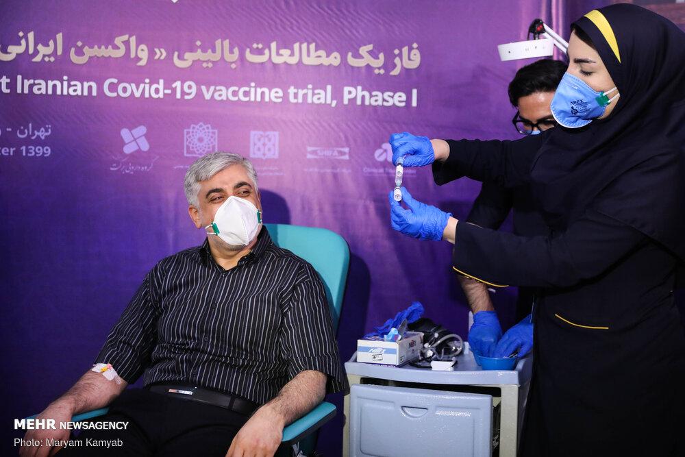 3643389 تست انسانی واکسن ایرانی کرونا, تست انسانی
