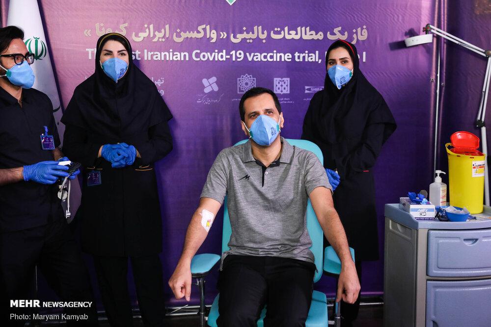 3643397 تست انسانی واکسن ایرانی کرونا, تست انسانی