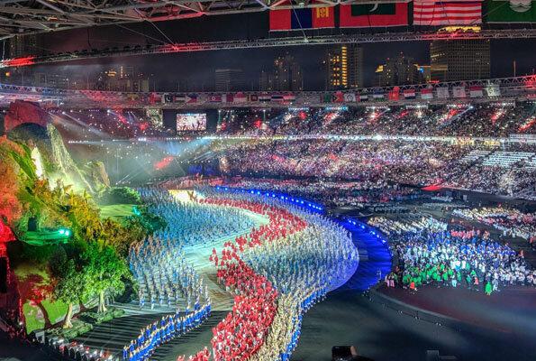 4523889 مقامات ورزش قطر, میزبانی آسیایی قطر, ایران
