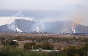 آلودگی شهرستان لنجان تیتر یک