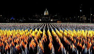 شدن کاخ سفید برای تحلیف بایدن آماده شدن کاخ سفید برای تحلیف بایدن