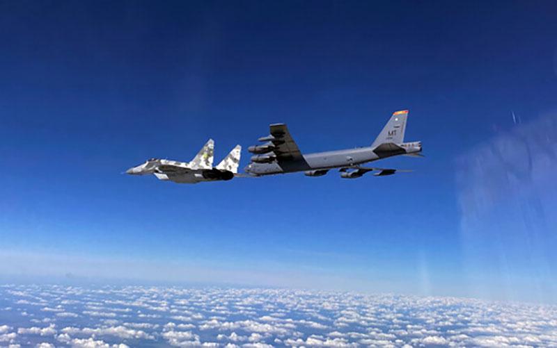 ارسال دو بمبافکن بی ۵۲ آمریکا به خاورمیانه بمبافکن بی-۵۲ آمریکا, خاورمیانه