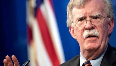 اظهارات خصمانه بولتون علیه ایران ایران, بولتون
