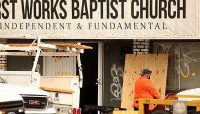انفجار در کلیسایی در لسآنجلس آمریکا کلیسا, انفجار, لسآنجلس آمریکا