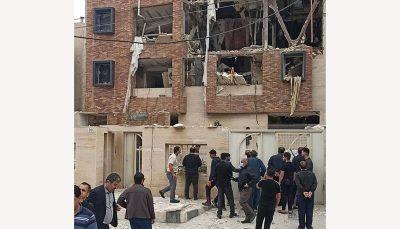 انفجار هولناک در اهواز ؛ یک خانواده زیر آوار انفجار هولناک, انفجار, اهواز