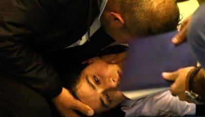 بازیکن عراقی از مرگ حتمی نجات یافت/ عکس