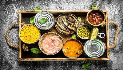 بدن پس از مصرف غذاهای کنسروی رژیم غذایی, غذاهای کنسروی