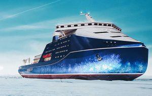بزرگترین کشتی یخ شکن هسته ای دنیا بازتاب تی وی