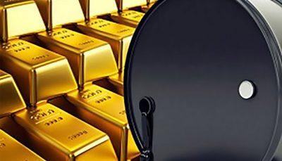 بهای طلا و نفت در بازارهای جهانی بهای طلا و نفت