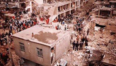تصاویر آرشیوی از بمباران شهر سنندج