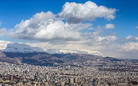 تهران بعد از ۶ روز آلودگی هوا دوباره نفس کشید آلودگی هوا, هوای سالم