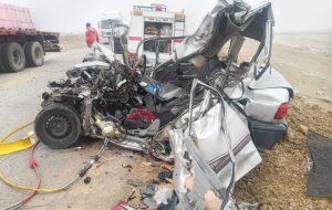حادثه رانندگی در آذربایجانشرقی سه کشته بر جاگذاشت حوادث