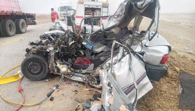 حادثه رانندگی در آذربایجانشرقی سه کشته بر جاگذاشت