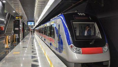 خروج قطار شهری تبریز از ریل خسارت جانی نداشت