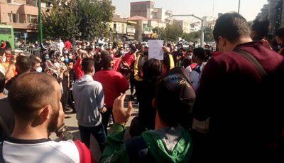 دستگیری هوادار پرسپولیس در تجمع مقابل ساختمان باشگاه دستگیری هوادار پرسپولیس, پرسپولیس