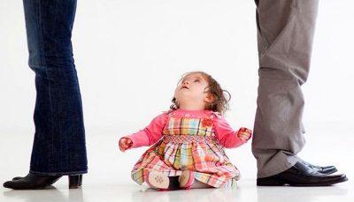 دود دعوای والدین در چشم کودکان کودکان, دعوای والدین