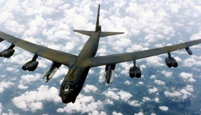 دو بمبافکن بوئینگ بی ۵۲ به سوی خلیج فارس بمبافکن بوئینگ بی-۵۲, خلیج فارس