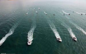 رزمایش دریایی سپاه در خلیج فارس بازتاب تی وی