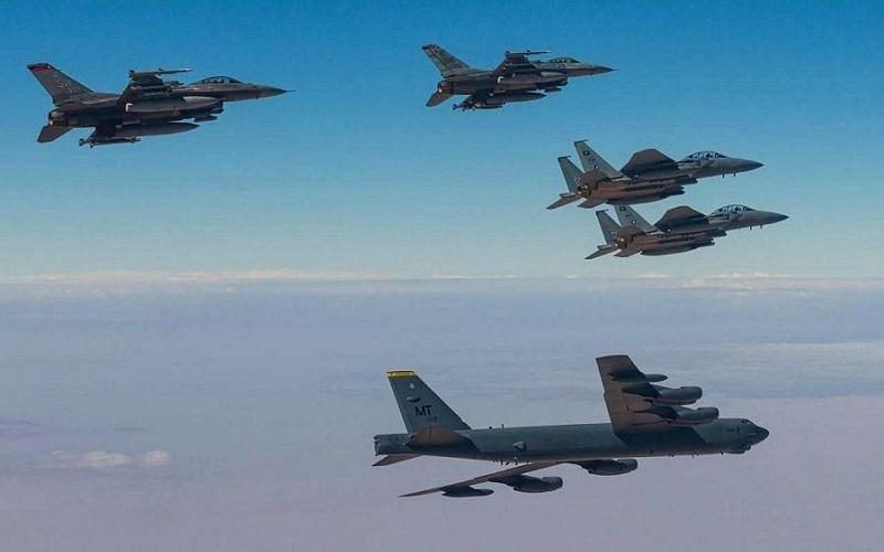 رزمایش مشترک امریکا و عربستان عربستان و آمریکا, جنگ ایران و آمریکا, ایران و آمریکا, رزمایش نظامی, انتقام سخت
