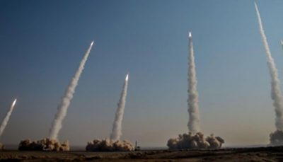 رزمایش پیامبر اعظم ص با شلیک انبوه موشک های بالستیک رزمایش پیامبر اعظم (ص), رزمایش, موشک بالستیک