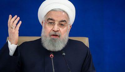 روحانی: امسال، سال بسیار سختی بود/ ما تنها بودیم و کسی به ما کمک نکرد