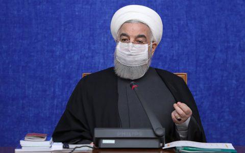 روحانی: راهپیمایی ۲۲ بهمن امسال نمادین خواهد بود
