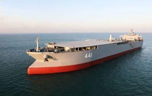 رونمایی از بزرگترین شناور نظامی ایران پیشنهاد سردبیر