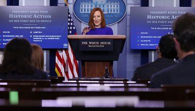 سخنگوی کاخ سفید برجام از محورهای نخستین مذاکرات بایدن با رهبران جهان خواهد بود جن ساکی, کاخ سفید, برجام