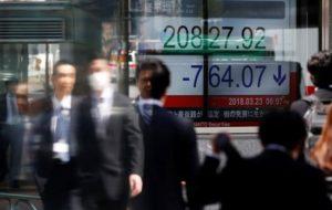سهام آسیا اقیانوسیه افت کردند روی خط خبر