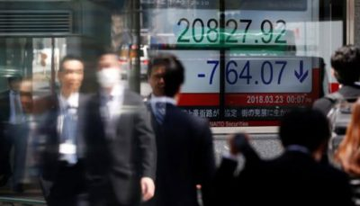 سهام آسیا اقیانوسیه افت کردند سهام آسیا اقیانوسیه, سهام والاستریت