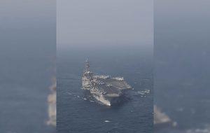 فاکس نیوز فرود موشک ایران در 100 مایلی ناو هواپیمابر آمریکایی پیشنهاد سردبیر