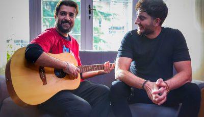 فرزاد فرزین و احمد مهرانفر در یک فیلم