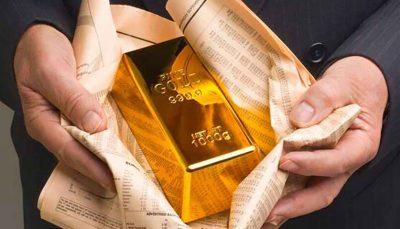 قیمت جهانی طلا با سقوط بازارهای سهام رشد کرد/ هر اونس ۱۸۵۱ دلار