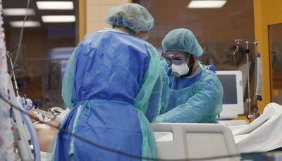 لاری ۸۵ بیمار دیگر قربانی کرونا شدند آمار کرونا, کرونا