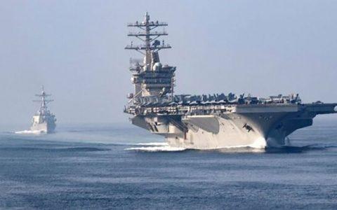 لغو خروج ناوهواپیمابر امریکا از خلیج فارس ناوهواپیمابر امریکا, نیمیتز, خلیج فارس
