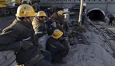 محبوس شدن ۲۲ تن از معدنچیان در شرق چین